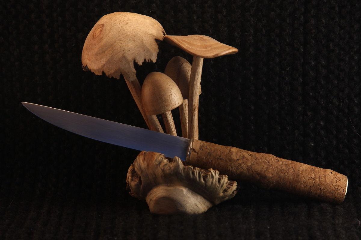 Рукоятка ножа из пробки своими руками 48