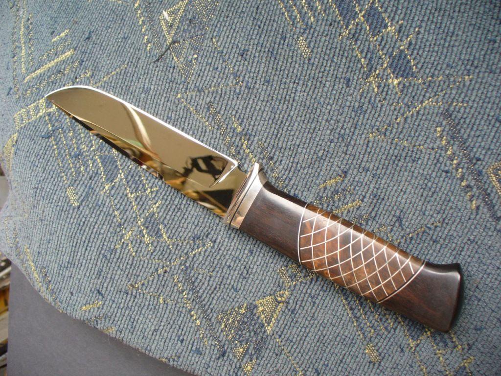 Как сделать нож блестящим в домашних условиях