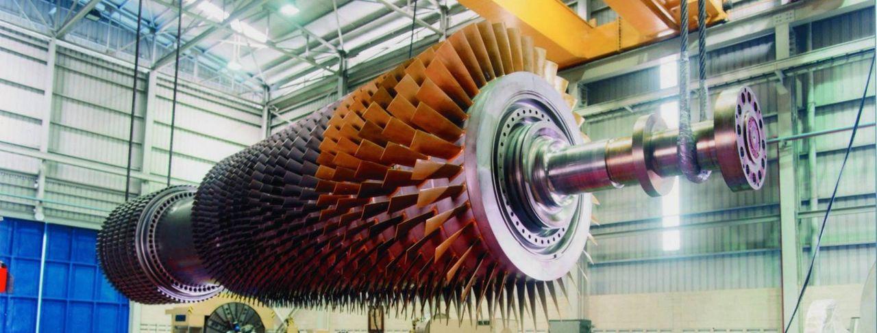 фото ротора турбины достаточно быстро