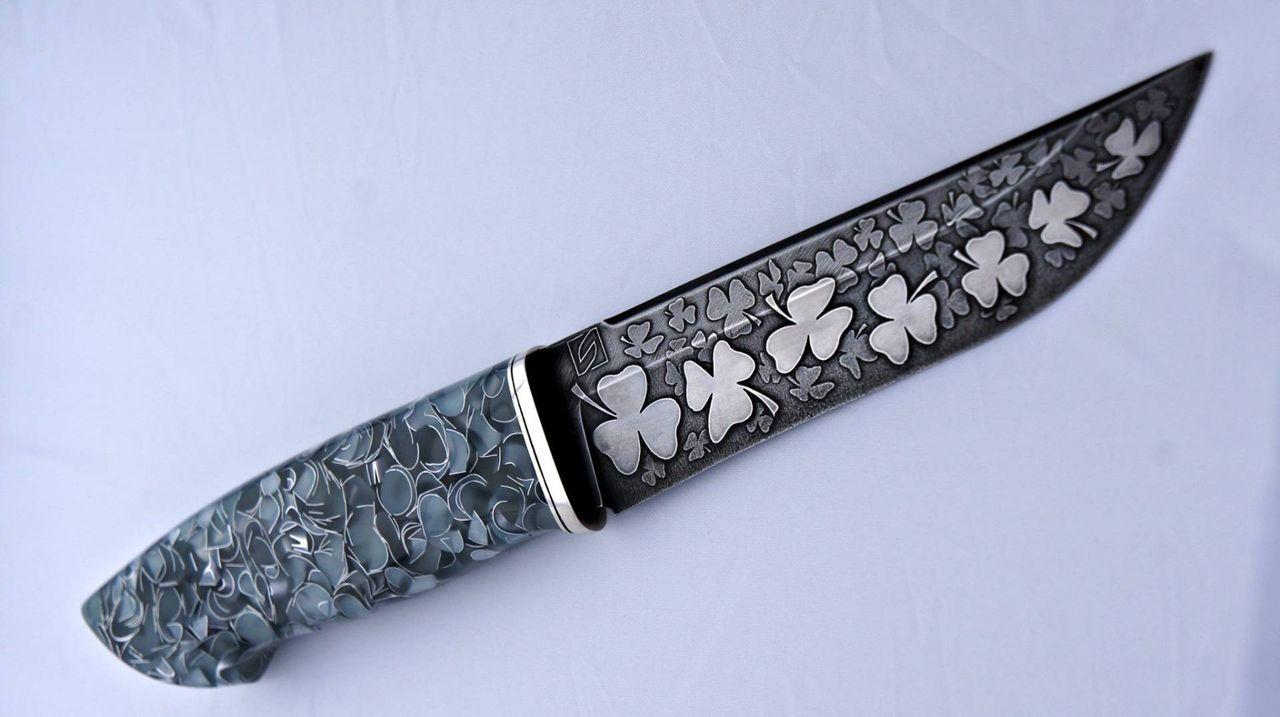 картинки узоров на ножах розы