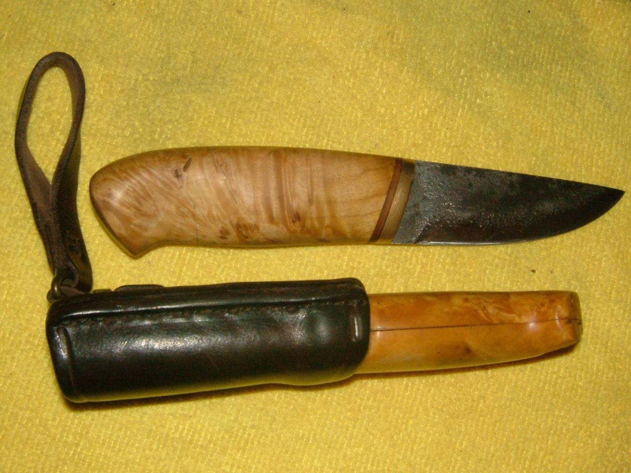 Рукоятка на нож своими руками фото