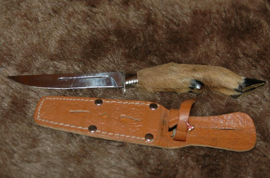 Рукояти для ножей своими руками из копыта косули