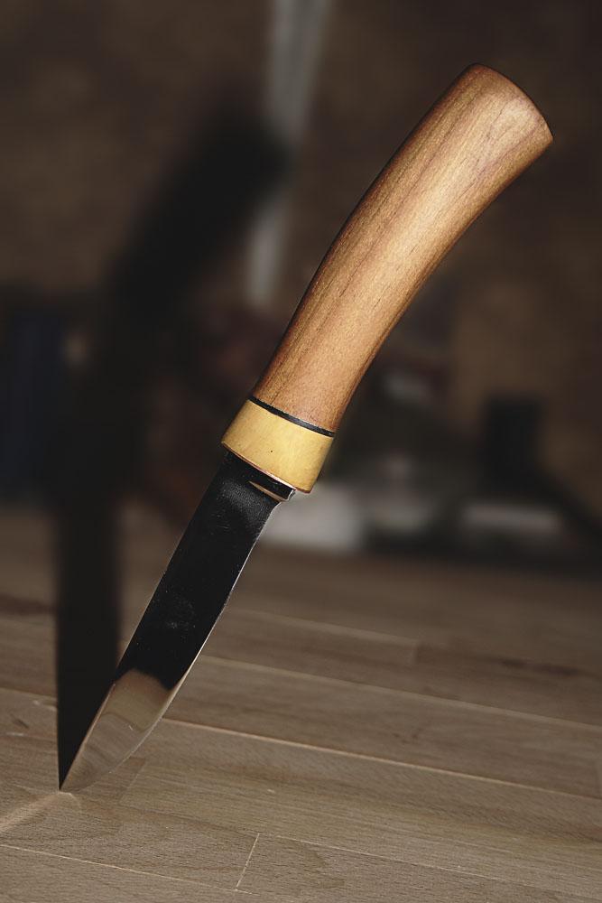 Как сделать нож из ножа от рубанка