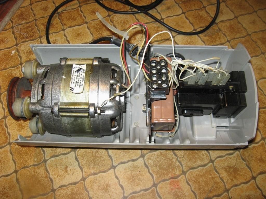Как подклюить мотор от стиралки 56