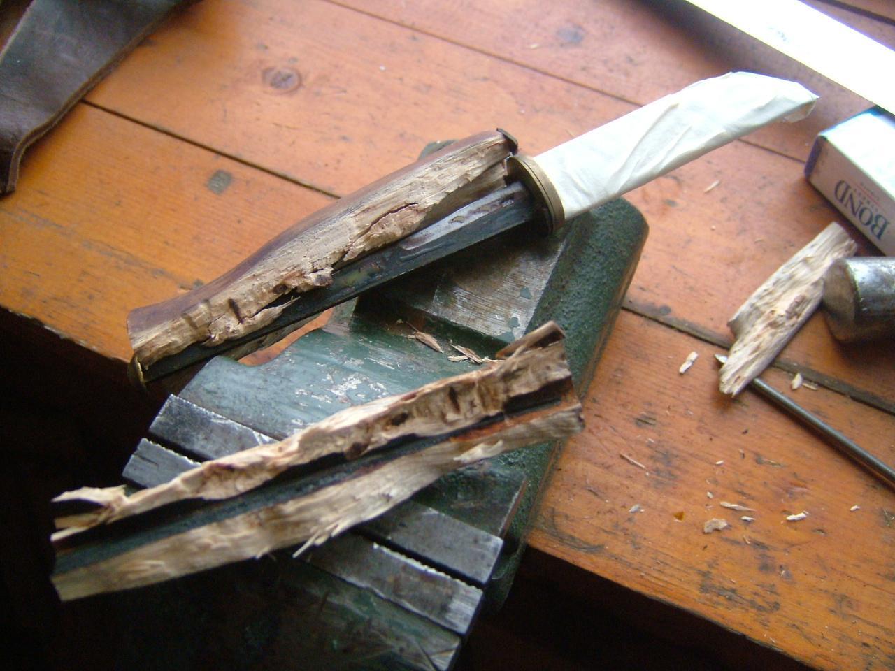 Как сделать клинок для нож в домашних условиях8