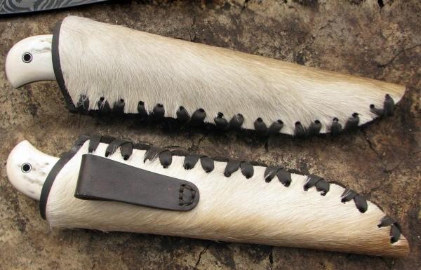 Ножны из камуса своими руками