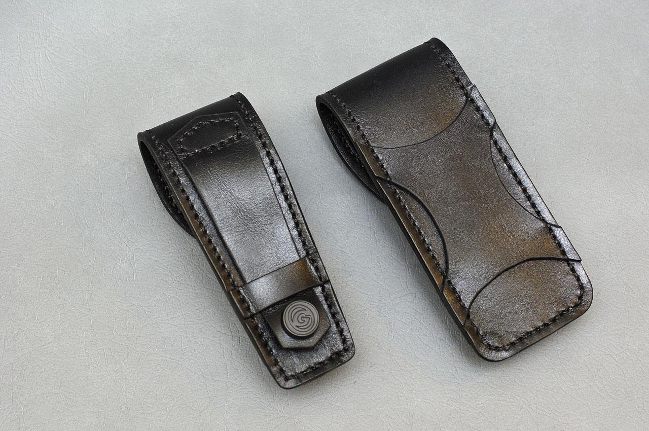 Чехол из кожи для карманного ножа своими руками