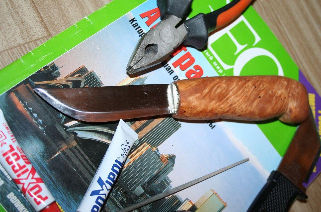 Чем отполировать нож в домашних условиях 546