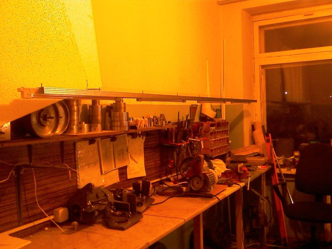 Освещение в мастерской