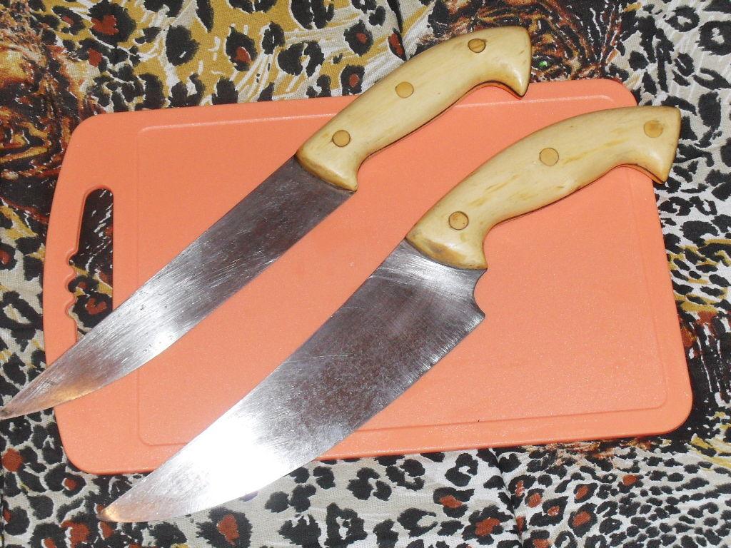 Как из полотна сделать нож 151