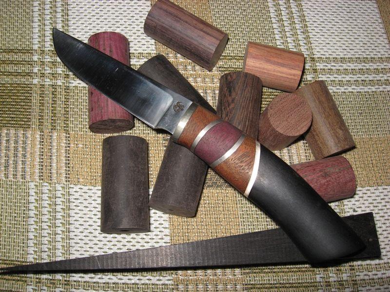 Из чего сделать ножны для ножа своими руками