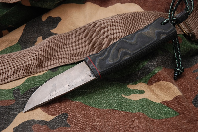 Как сделать ручку ножа микарта