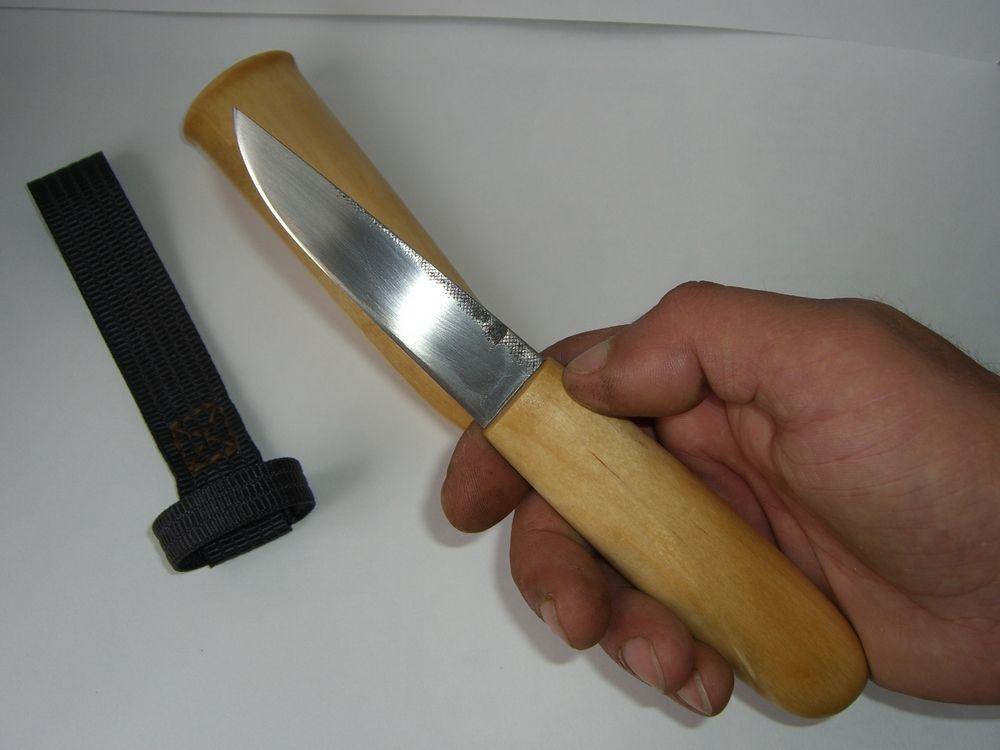 Из чего изготовить нож в домашних условиях 370
