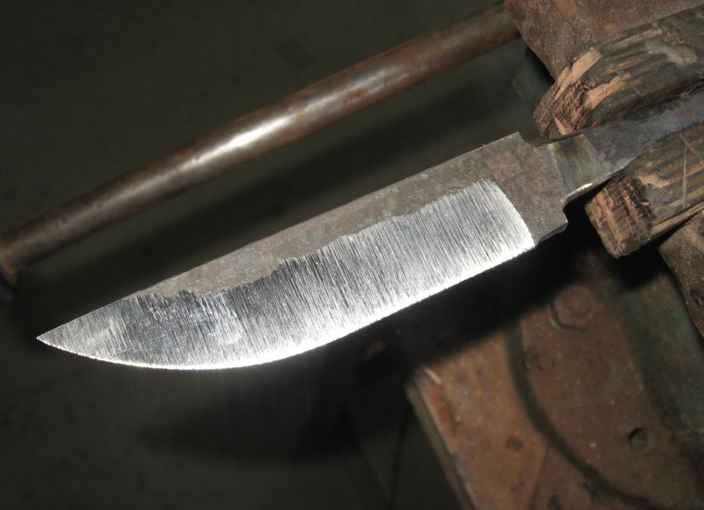 Закалка ножей домашних условиях