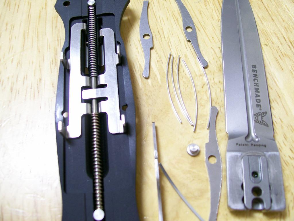 Выкидного нож своими руками фото