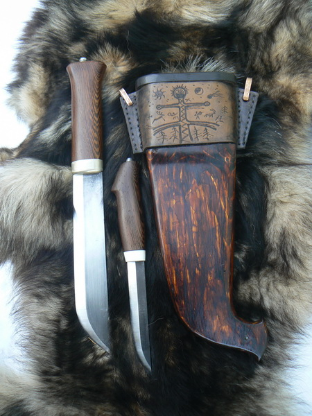 Спарка или ножи парного ношения (это как кому нравится) была сделана и...