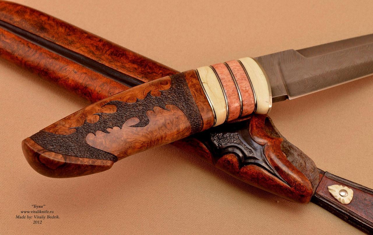Комбинированные ножны своими руками