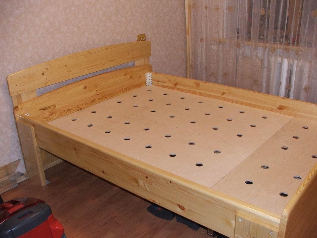 Как построить своими руками кровать