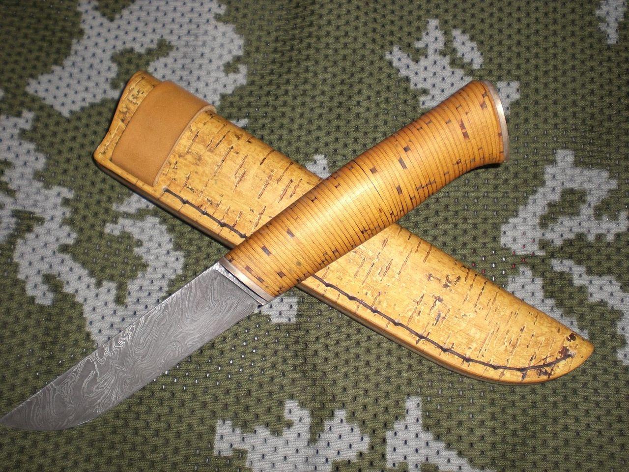 Как сделать ручку к ножу из дерева