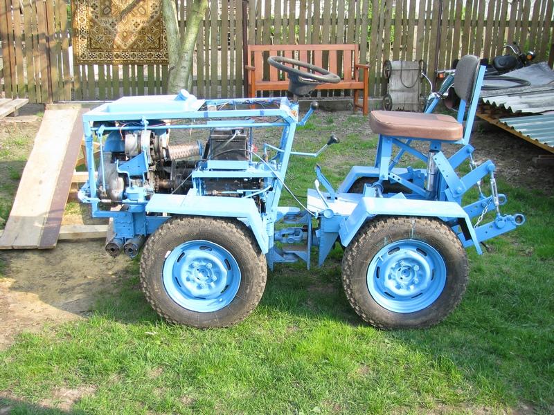 Смотреть онлайн как сделать мини трактор