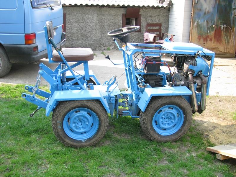 Самодельные тракторы и минитракторы своими руками 66