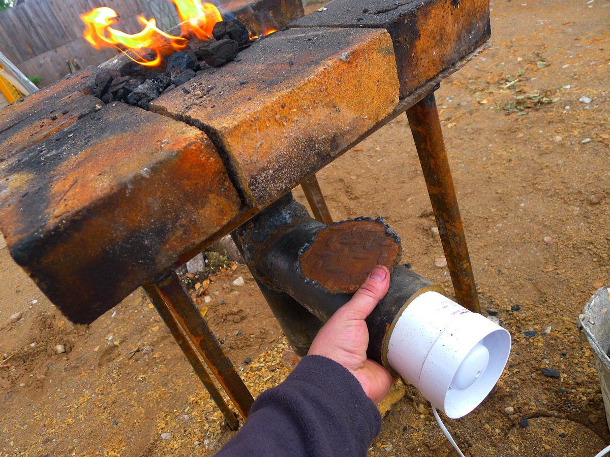 Уголь для ковки своими руками