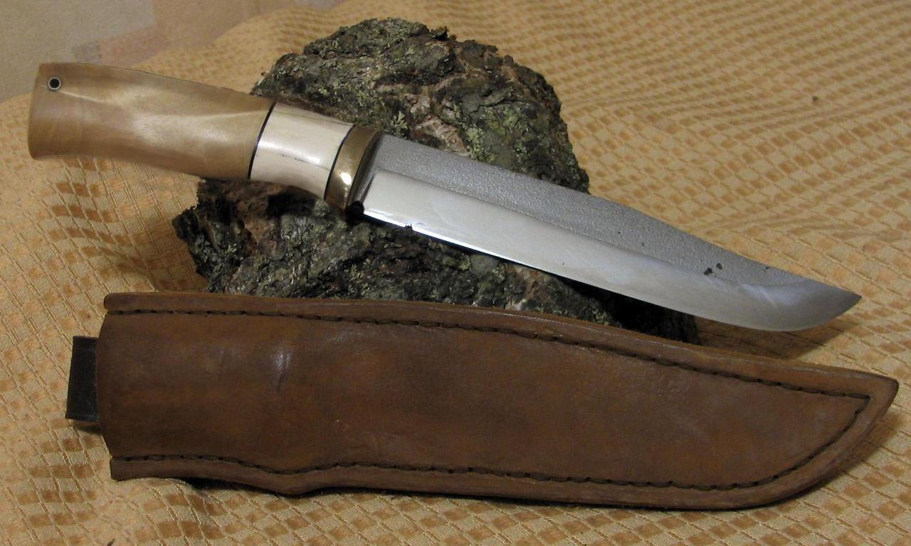 Нож охотничьи своими руками мехпила
