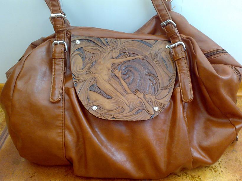 Купить кожаную женскую сумку из натуральной кожи в