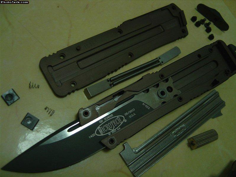 Кнопочные ножи своими руками