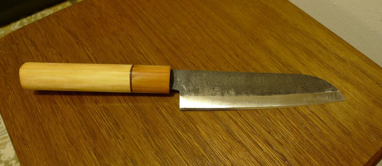 Как сделать нож для начинающих 877