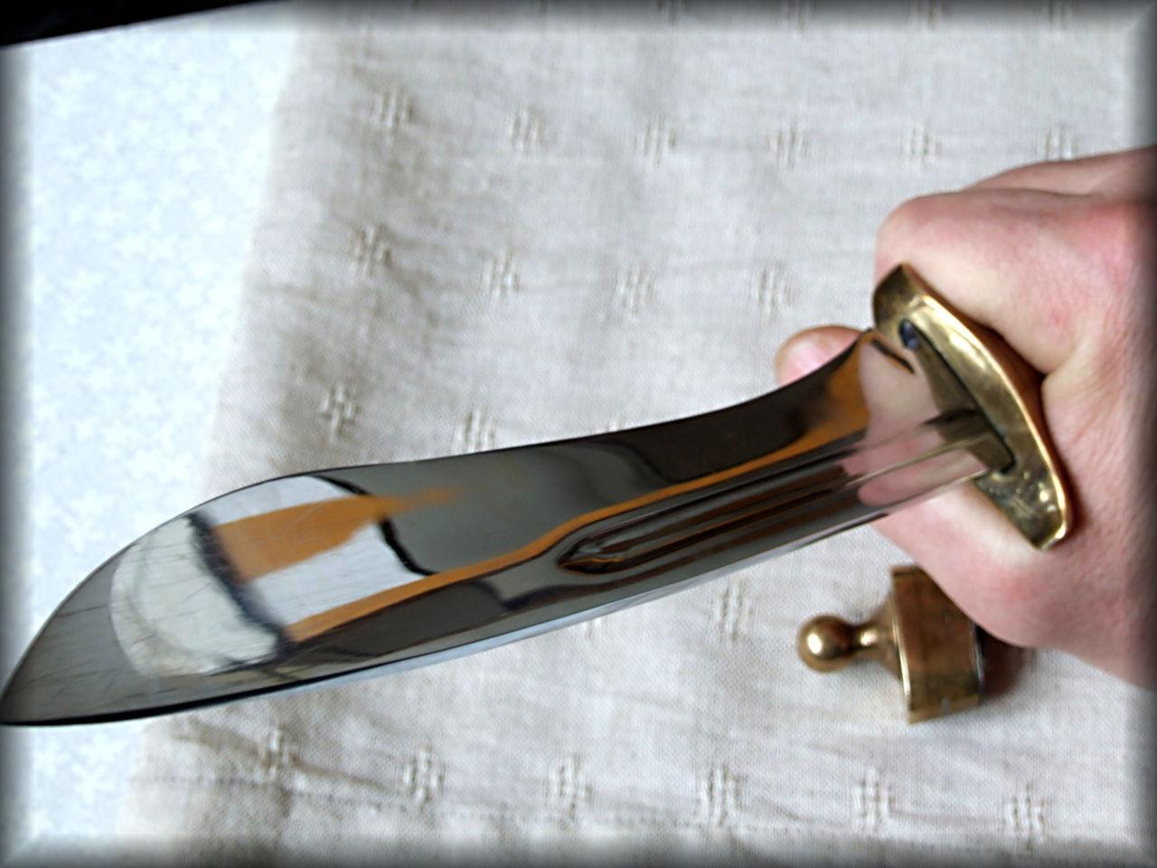 Своими руками нож из подшипника