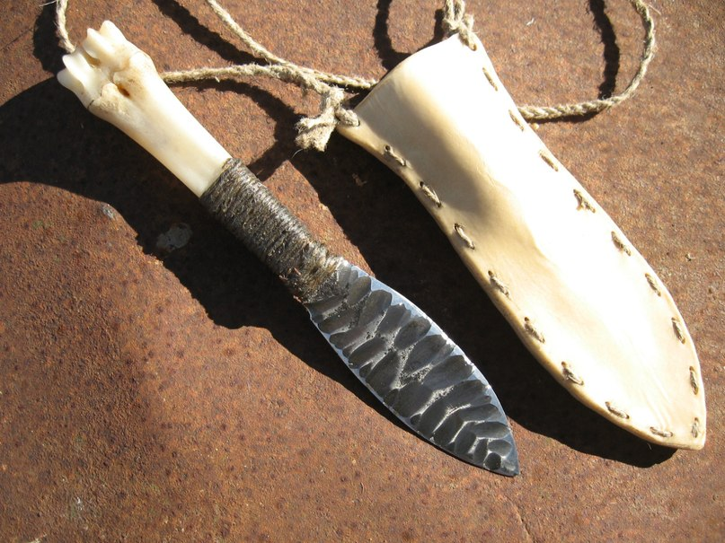 Рукоятки для ножей из кости