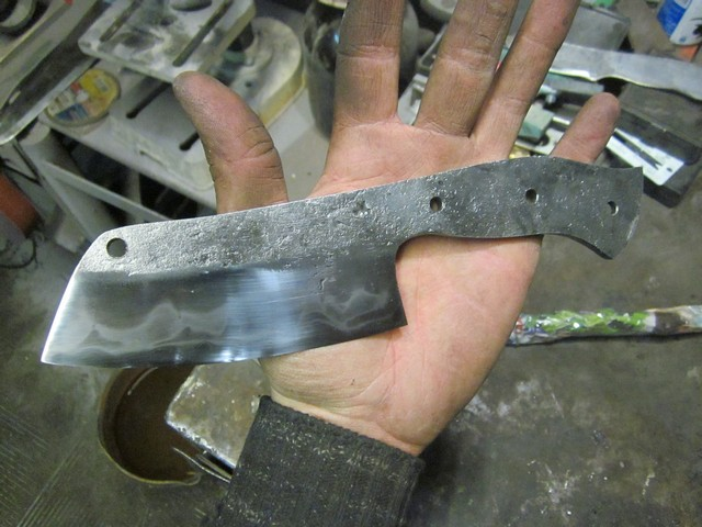 Закалка ножа в домашних условиях
