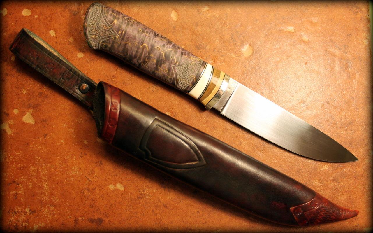 отличаются фото рукояти ножа с калины вопрос интересует многих