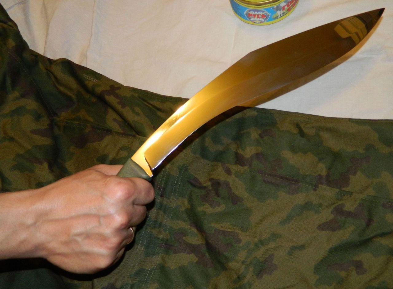 Как сделать форму ножу 333