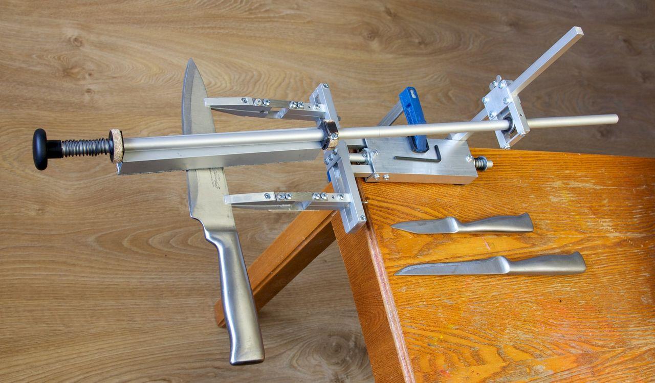 Точилка для охотничьих ножей своими руками 71