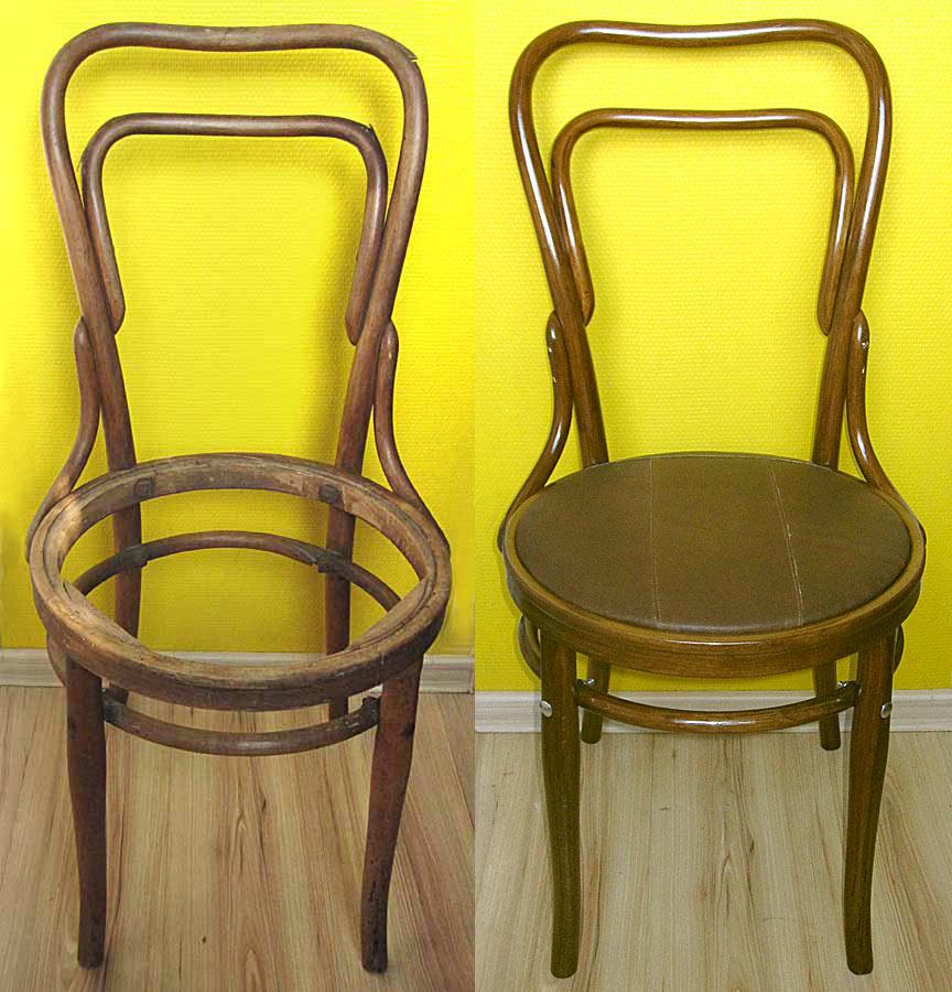 Сшить сидушки на венские стулья