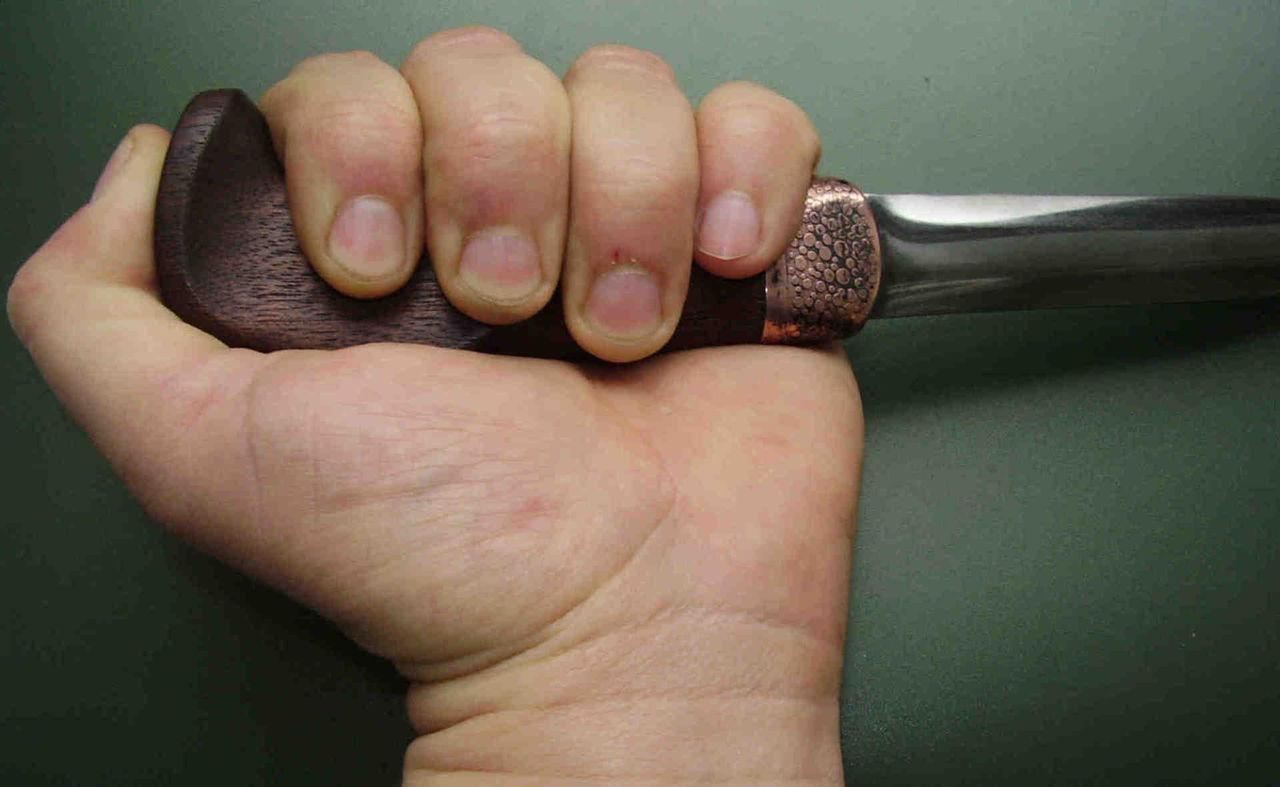 финский хват ножа фото изучив личность отца