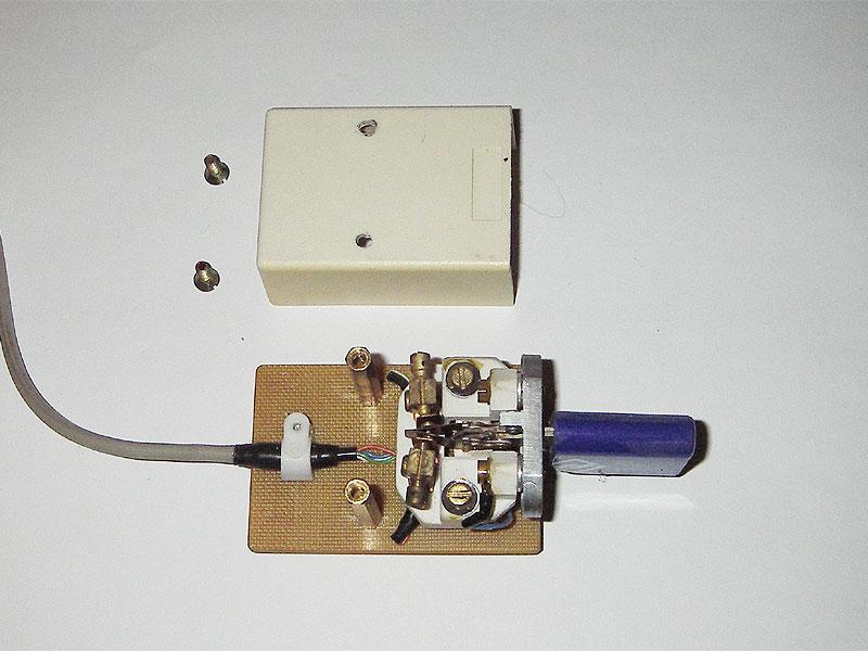 Автоматический телеграфный ключ своими руками