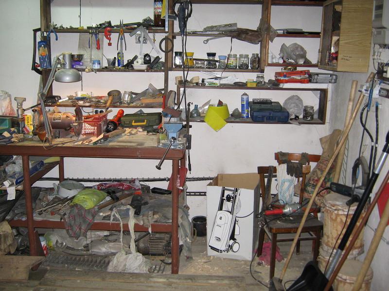 Мастерская в подвале гаража своими руками