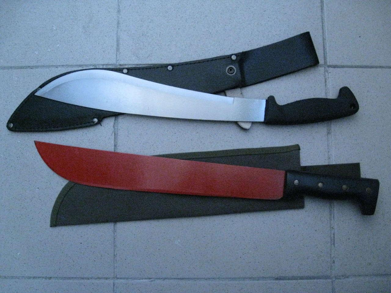 Ножны для мачете из пластика