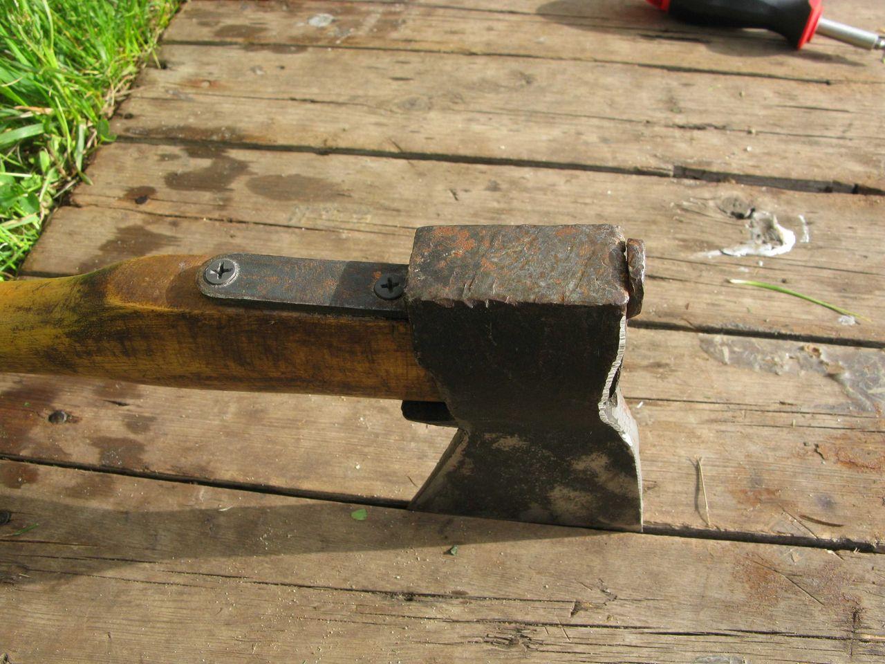 Самодельный клин для сваливания дерева - Изобретения 46