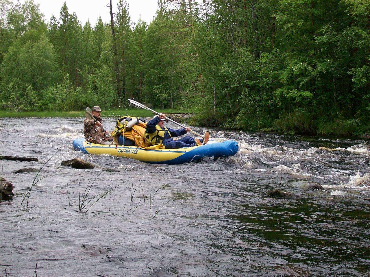 Карелия река кузема рыбалка