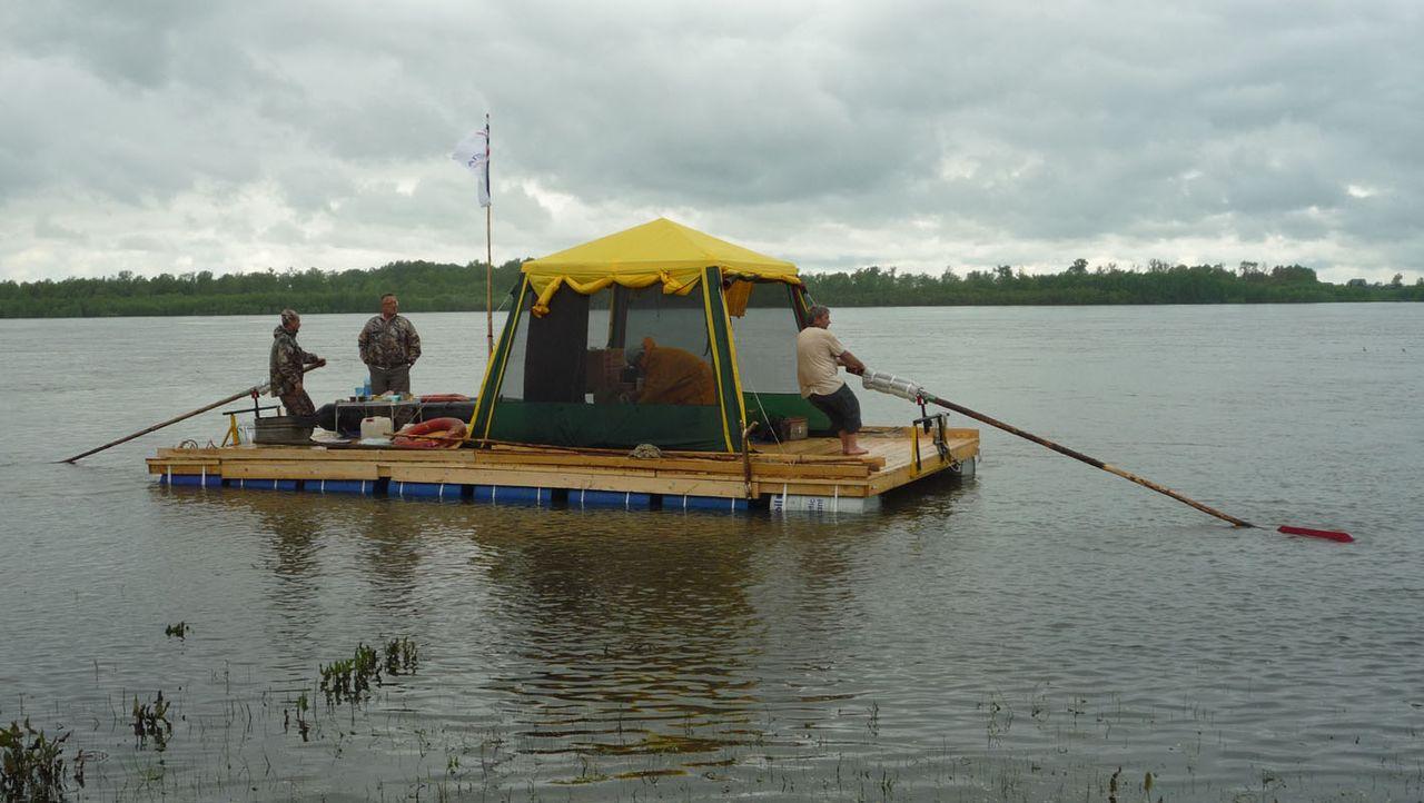 Как сделать плот на 3 человека - Shkafs-kupe.ru