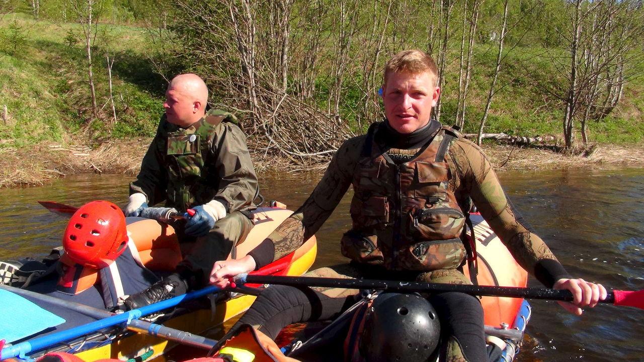 сплав и рыбалка по рекам центра россии видео
