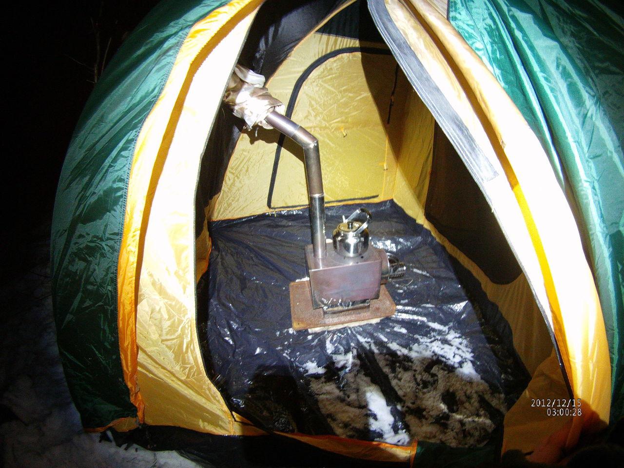 печки для обогрева рыбацкой палатки